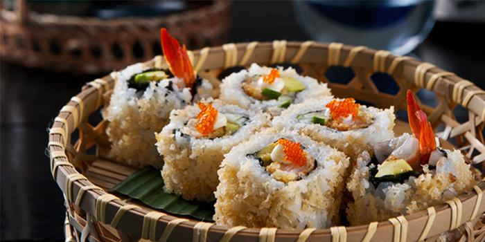 Sushi Roll from Kajin in Seminyak, Bali