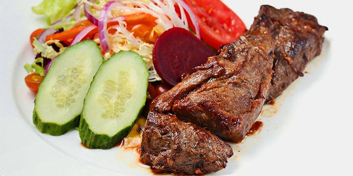 Kebab Beef, Wheatfield Kitchen, Causeway Bay, Hong Kong