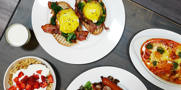 Brunch from Kith Cafe (Millenia Walk) in Promenade, Singapore