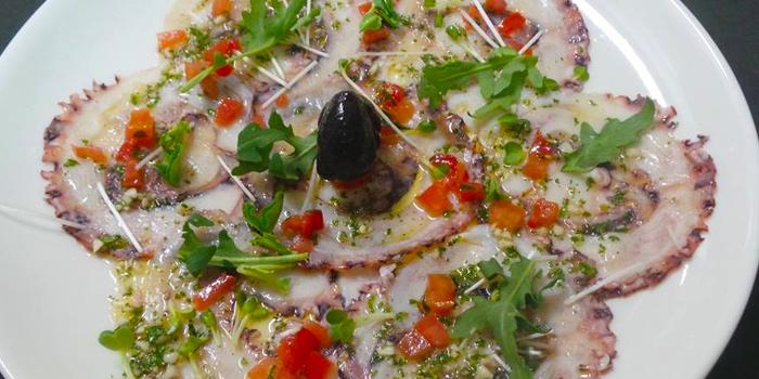 Octopus Carpaccio from Galleria Milano in Sukhumvit Soi 20, Bangkok