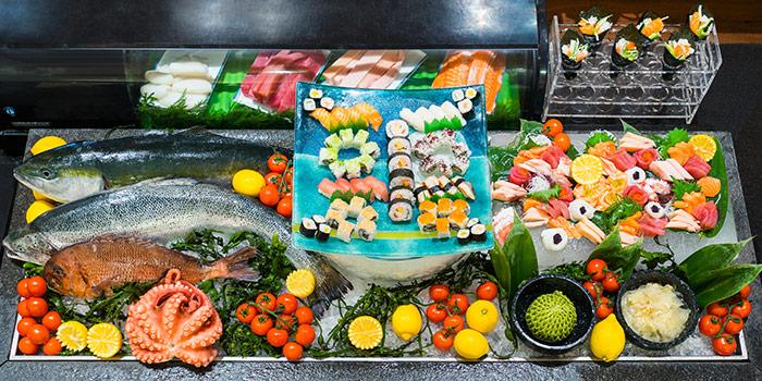 Sunday Brunch Sashimi Station from Oscar