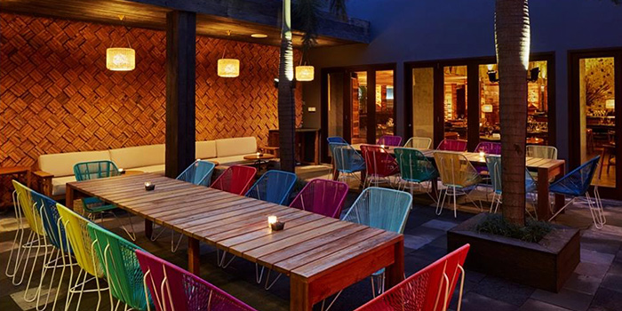 Outdoor Area of Queens Head in Kemang, Jakarta