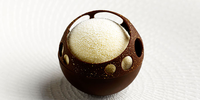 Chocolate Dessert from Saint Pierre in One Fullerton in Raffles Place, Singapore