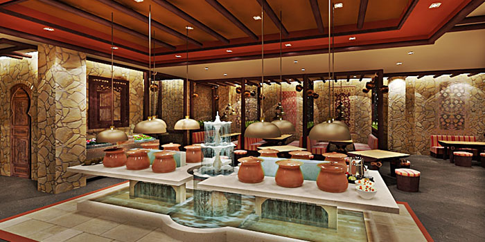 Counter Area of The Royal Kitchen (Bellagio) in Bellagio, Jakarta