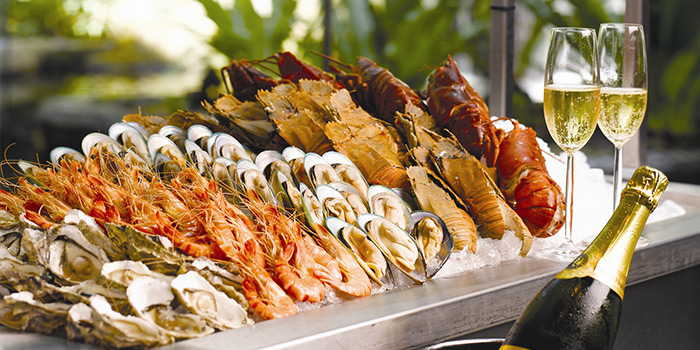 Seafood Spread from The Dining Room in Newton, Singapore