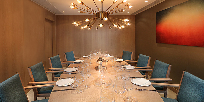 VIP Room of Shoku Japanese Binchotan Grill, Repulse Bay, Hong Kong