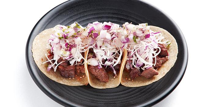 Galbi Tacos from Vatos Urban Tacos in Bugis, Singapore