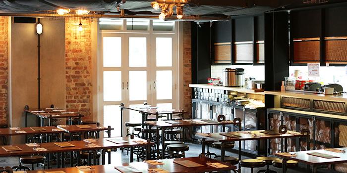 Interior of Vatos Urban Tacos in Bugis, Singapore