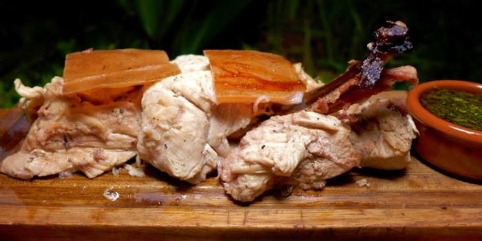 Suckling Pig at Barbacoa in Seminyak, Bali