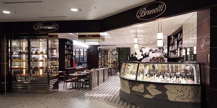 Exterior of Brunetti in Tanglin, Singapore