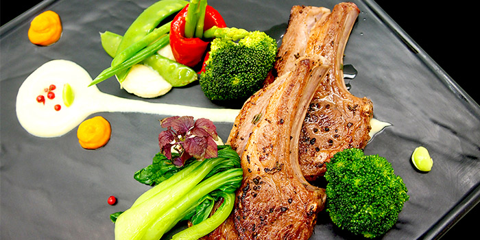 Grilled Australian Lamb Chops from Brunetti in Tanglin, Singapore