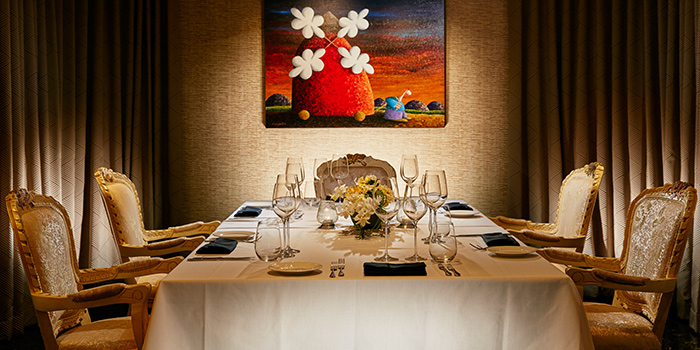 Private Dining Room in Buona Terra on Scotts Road in Newton, Singapore