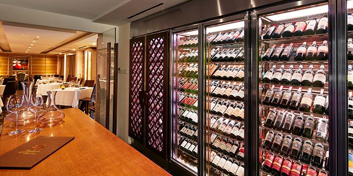 Wine Cellar in Buona Terra on Scotts Road in Newton, Singapore