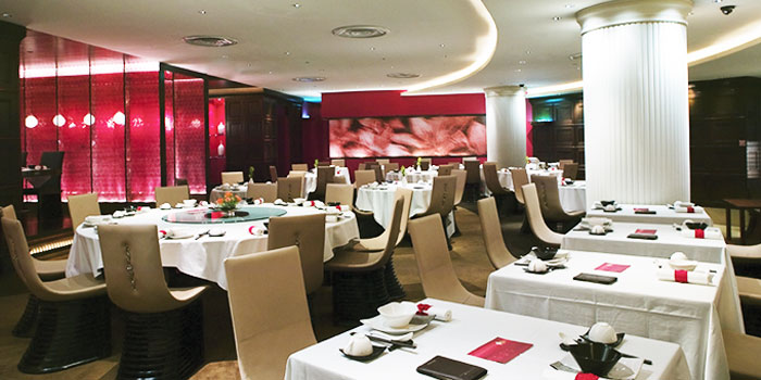 Interior of Crystal Jade Dining IN in VivoCity in Harbourfront, Singapore