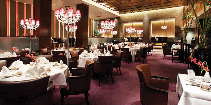 Dining Area of Crystal Jade Golden Palace in Orchard, Singapore
