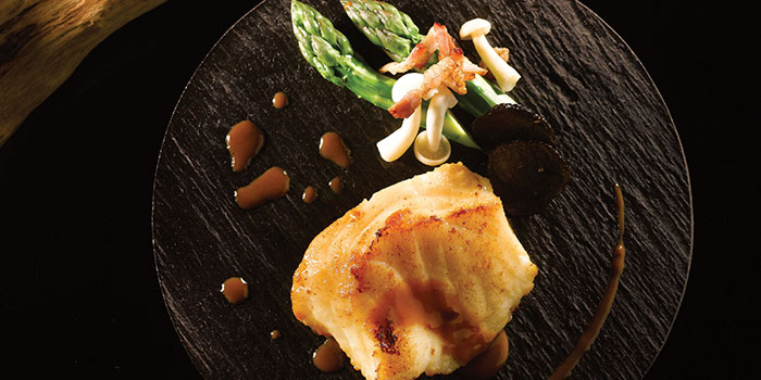 Pan Fried Cod Fish from Crystal Jade Golden Palace in Orchard, Singapore