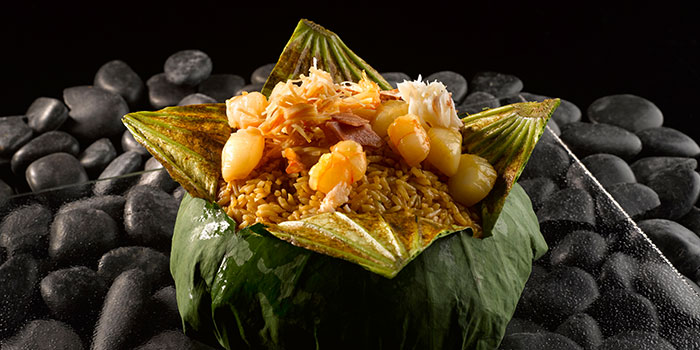 Seafood Fried Rice from Crystal Jade Golden Palace in Orchard, Singapore