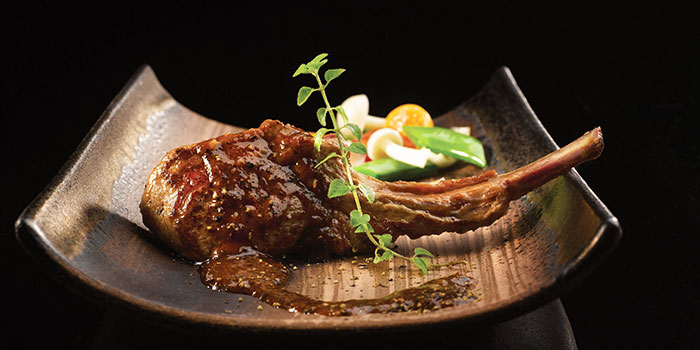 Baked Lamb Rack from Crystal Jade Golden Palace in Orchard, Singapore