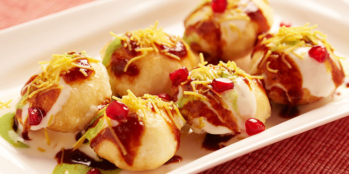 Dahi Batata Puri from Chutney Mary (East Coast) in East Coast, Singapore