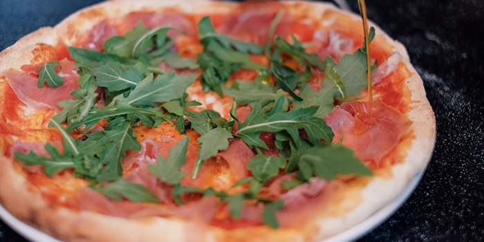 Parma Ham Pizza from Cibo Italiano in River Valley, Singapore