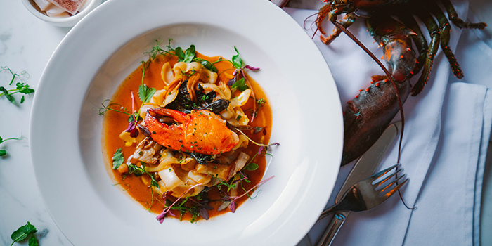 Cuttlefish Tagliatelle, FoFo by el Willy, Central, Hong Kong