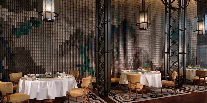 Dining Area of Dynasty, Wan Chai, Hong Kong
