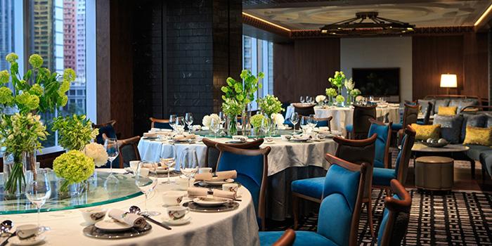 Dining Area of Dynasty, Wan Chai, Hong Kong