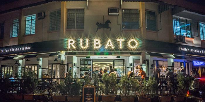 Exterior at RUBATO serving Italian cuisine in Bukit Timah, Singapore