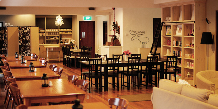 Dining Area of Fika Swedish Cafe & Bistro (Beach Road) in Bugis, Singapore