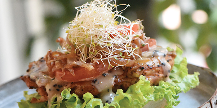 Grilled Chicken Sandwich from Fika Swedish Cafe & Bistro (Beach Road) in Bugis, Singapore