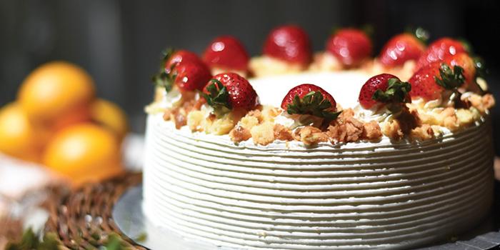 Strawberry Cake from Fika Swedish Cafe & Bistro (Beach Road) in Bugis, Singapore