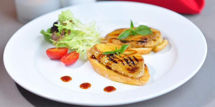 Foie Gras Toast, Bridal Tea House, Yau Ma Tei, Hong Kong