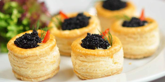 German Caviar Vol-Au-Vent, Bridal Tea House, Hung Hom, Hong Kong