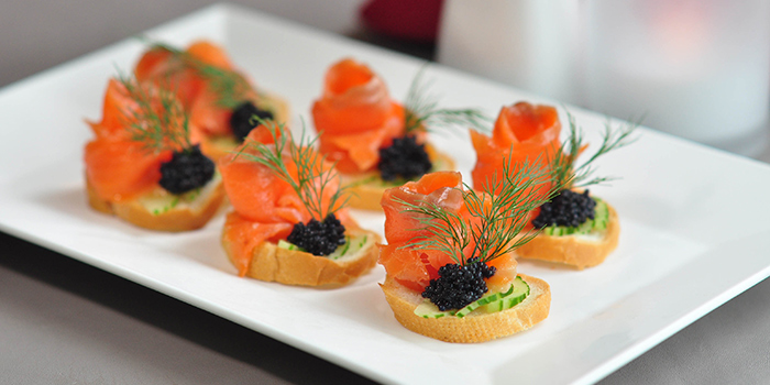 German Caviar Vol-Au-Vent, Bridal Tea House, To Kwa Wan, Hong Kong