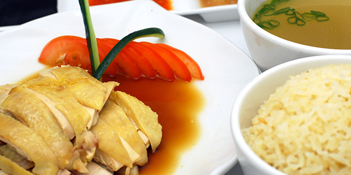 Hainanese Chicken Rice from Mooi Chin Place in Village Hotel Bugis in Bugis, Singapore
