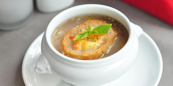 Onion Soup, Bridal Tea House, Yau Ma Tei, Hong Kong