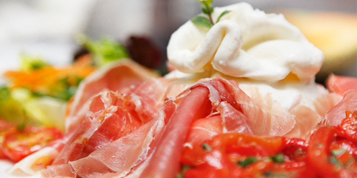 Prosciutto & Burrata from RUBATO serving Italian cuisine in Bukit Timah, Singapore