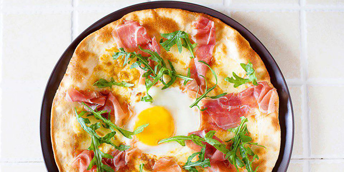 Prosciutto Pizza from RUBATO serving Italian cuisine in Bukit Timah, Singapore