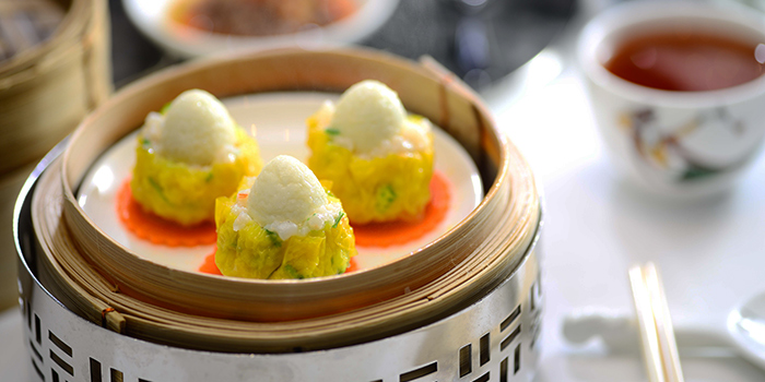Quail Egg with Shrimp and Pork Dumplings, Dynasty, Wan Chai, Hong Kong