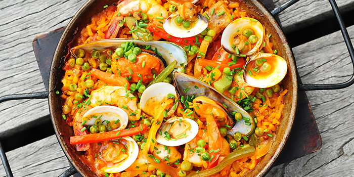 Seafood Paella from Sabio By The Sea in Sentosa, Singapore