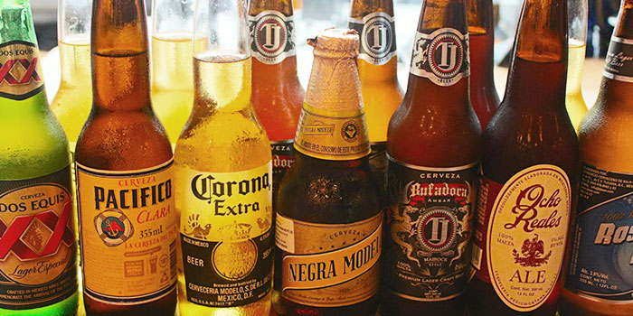 Beer from Senor Taco in Clarke Quay, Singapore