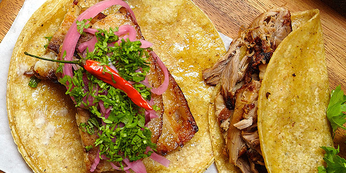 Pork Belly Carnitas from Senor Taco in Clarke Quay, Singapore