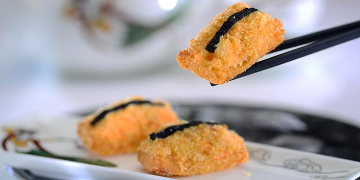 Shrimp and Crabmeat Deep-fried Toasts, Dynasty, Wan Chai, Hong Kong
