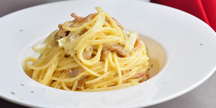 Spaghetti Carbonara, Bridal Tea House, Yau Ma Tei, Hong Kong