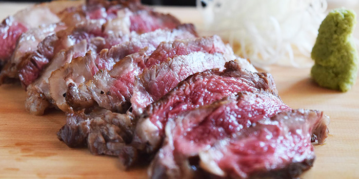 Grilled Steak from Teppan Bar Q in Robertson Quay, Singapore