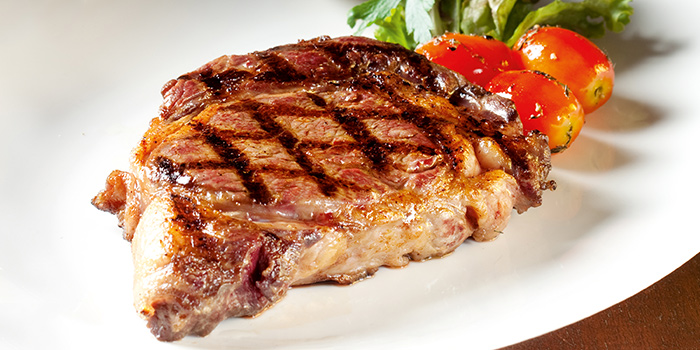 Rib Eye Steak from Wooloomooloo Steakhouse Singapore at Swissotel The Stamford in City Hall, Singapore