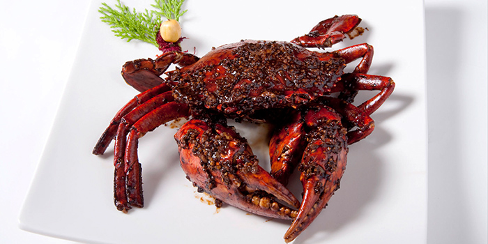 Black Pepper Crab from Wan He Lou in Jalan Besar, Singapore