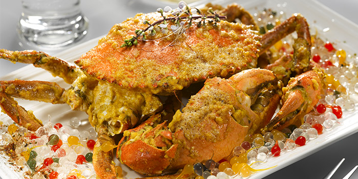 Salted Egg Crab from Wan He Lou in Jalan Besar, Singapore