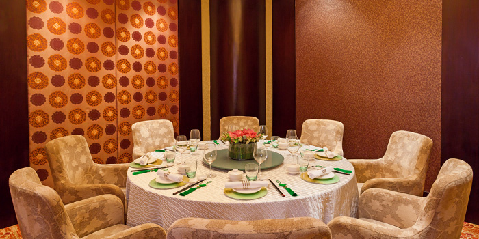 Private Dining Room in Xin Cuisine Chinese Restaurant in Outram, Singapore
