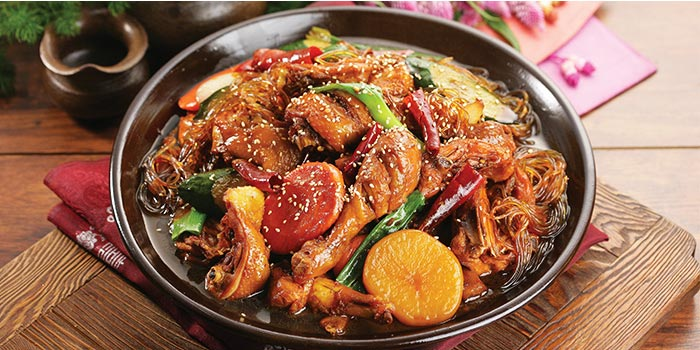 Andong Stew from Chicken Up (Orchard) in Orchard Road, Singapore